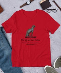 Great Cat Store Full Size Front Logo Short-Sleeve Unisex T-Shirt