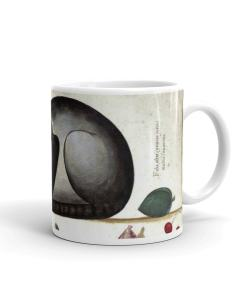 Cat and Mouse Art Mug