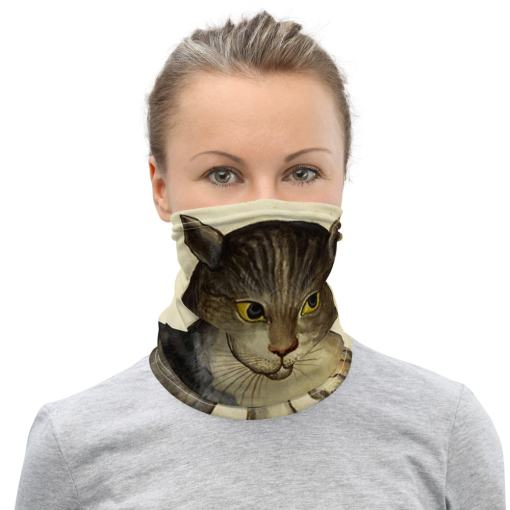 Art Cat Neck Gaiter