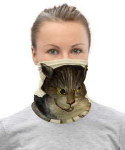 Art Cat Neck Gaiter