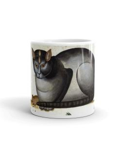 Cat and Mouse Art Mug