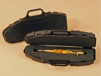 Hand Crafted 30 Caliber Bolt Action Pen - Urban Camouflage Barrel