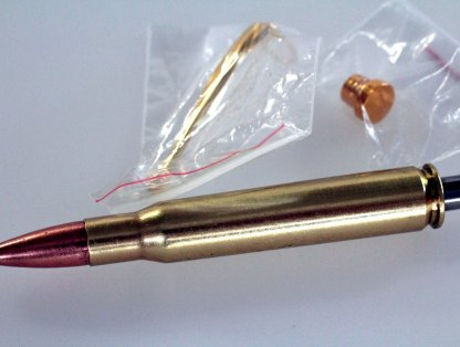 Made in USA Craft Supplies Pen Kit - Real Rifle Cartridge Pen - 30.06 Brass