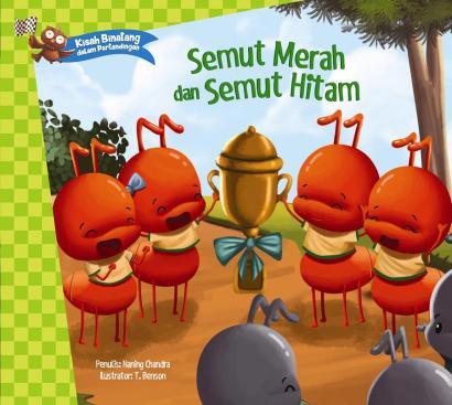 Kisah Binatang dalam Pertandingan_Semut Merah dan Semut Hitam