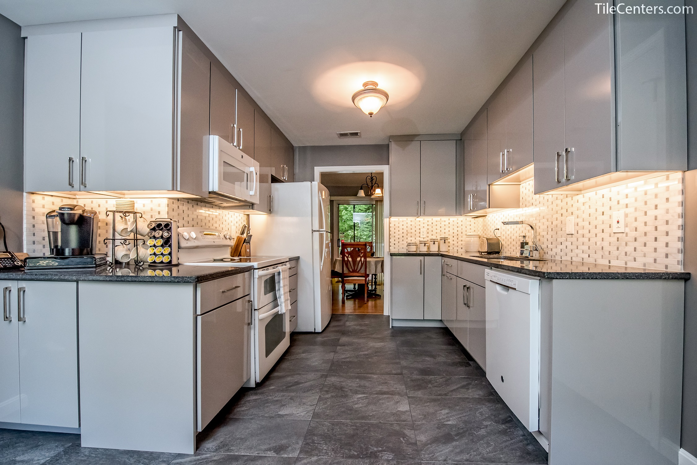 kitchen remodeling silver spring md cabinet kits sale white and grey remodel maximizing countertop space