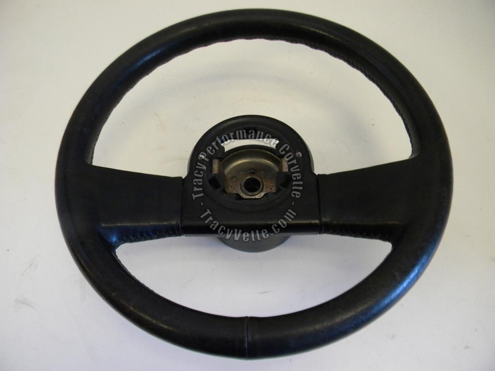 Steering Wheel Horn Parts Diagram For A 1986 Corvette