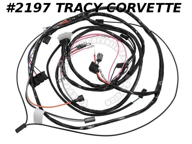 1963 Corvette New Repro Main Engine/Starter Wiring Harness