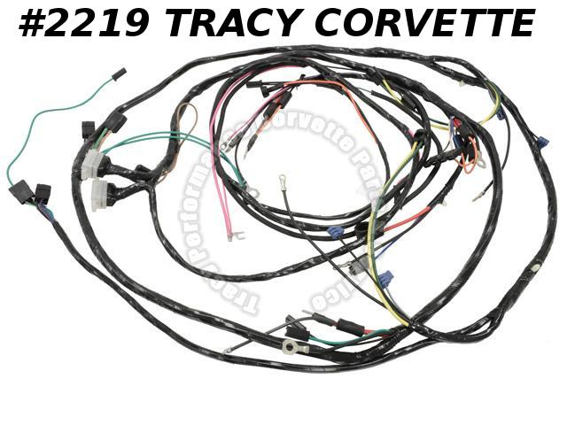 1967 Corvette New Repro Engine/Forward Lamp Wiring Harness