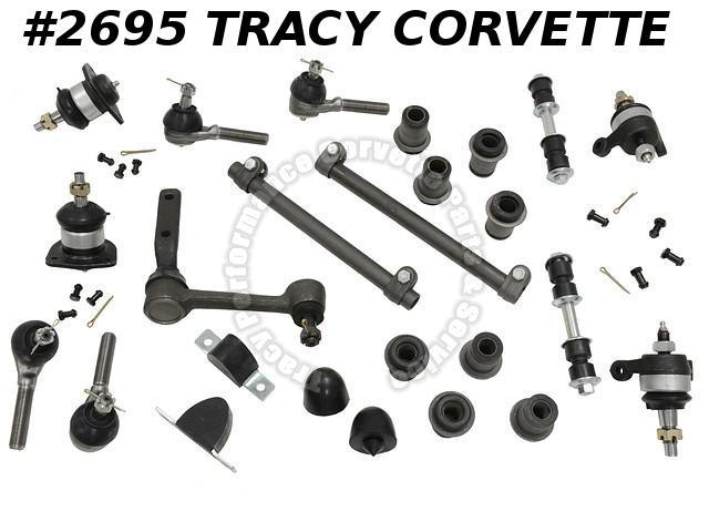 1963-1982 Corvette Correct New Reproduction Front