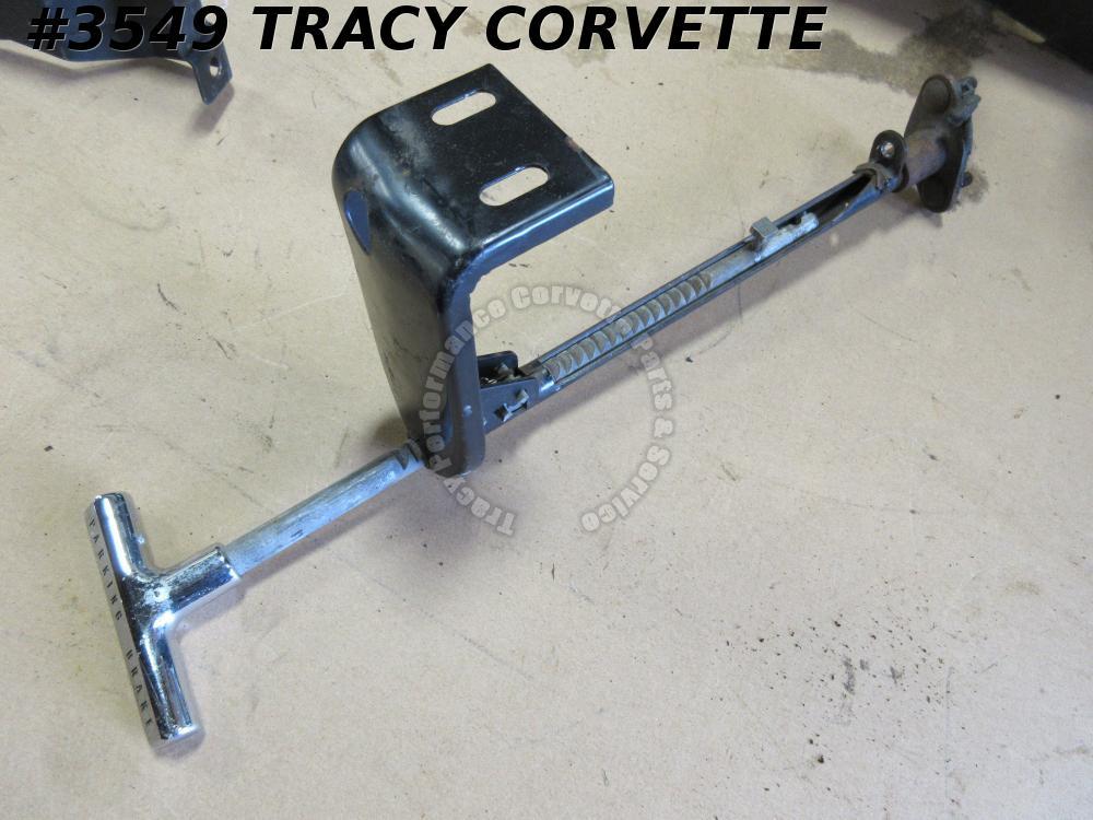 Parking Brake Assembly Diagram For A 1966 Corvette