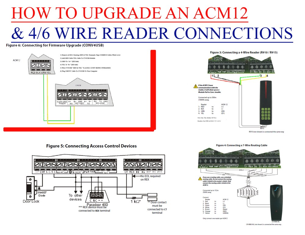 medium resolution of how to upgrade and acm12 connection diagram