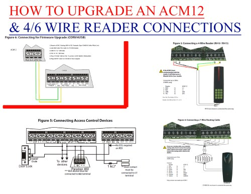small resolution of how to upgrade and acm12 connection diagram