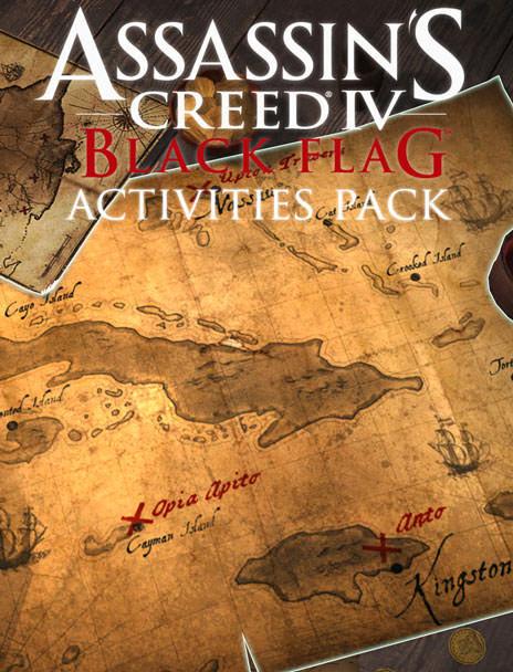 Assassin's Creed Black Flag Treasure Map : assassin's, creed, black, treasure, Assassin's, Creed®IV, Black, Flag™, Saver:, Activities, (DLC)
