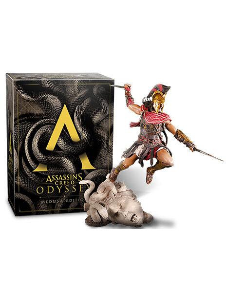 Assassin's Creed Odyssey Medusa : assassin's, creed, odyssey, medusa, Assassin's, Creed, Odyssey, Medusa, Edition, UBISOFT