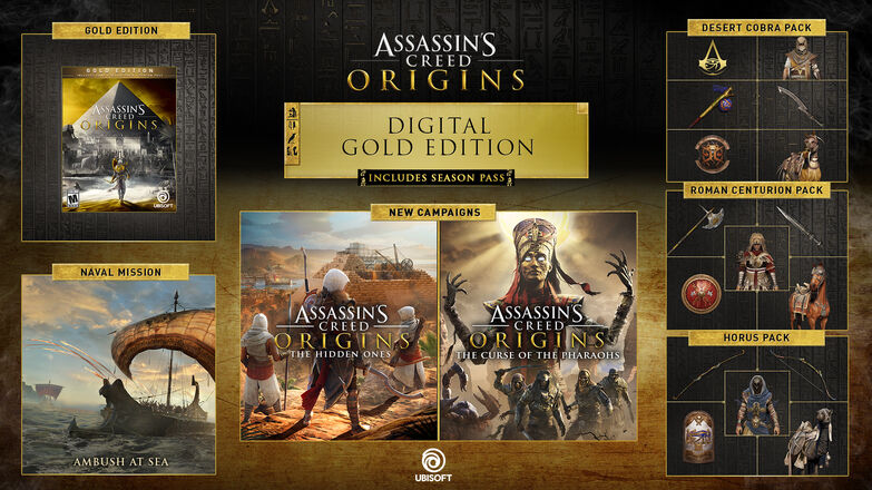 Buy Assassin S Creed Origins Gold Edition For Pc