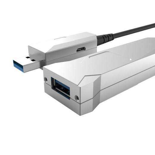 USB 3.0 Hybrid AOC Type-A to Female Type-A