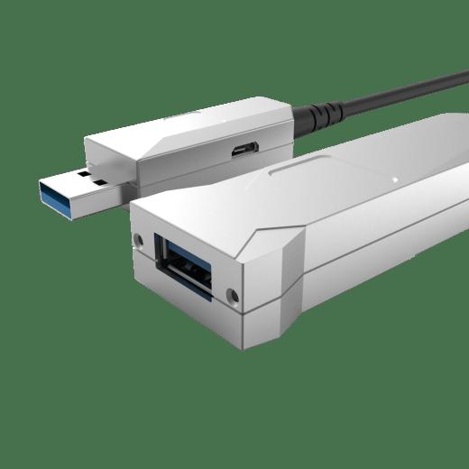 USB 3.0 Hybrid AOC Type-A to Female Type-A