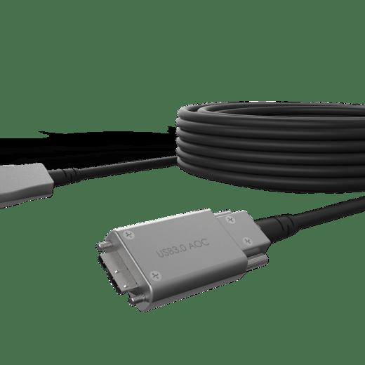USB 3.0 hybrid AOC Type-A to Micro-B