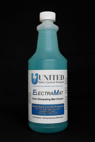 ESD Mat Cleaner for ESD Bench Mats and ESD Table Top Mats