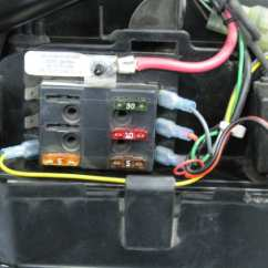 Wiring Diagram For Motorcycle Led Lights Single Phase Reversing Contactor Accessory Fuse Block, 4 Or 6 Position W/cable & Connectors