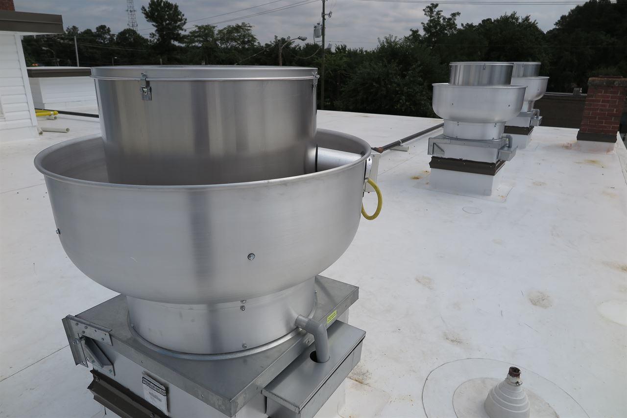 Ventilation Direct  Kitchen Hood Make Up Air System
