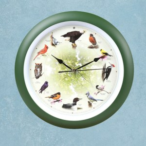 Bird Singing Clock
