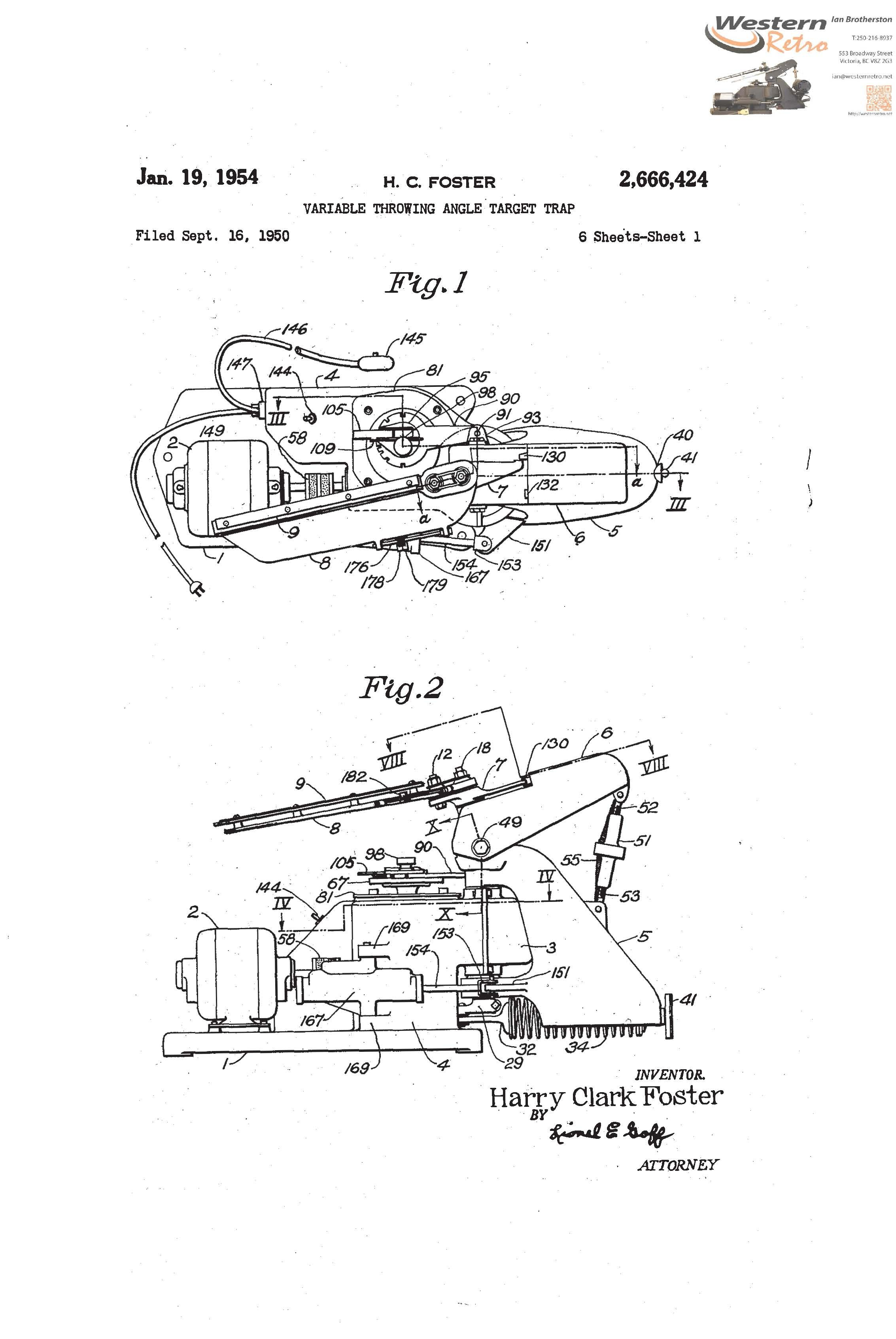 US Patent Western Trap