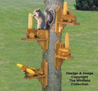 The Winfield Collection  Squirrel Feeders Plan  WORKSHOP