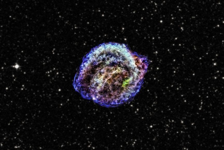 銀河系每百年會有3次超新星爆發。為何人類已416年沒看到一次