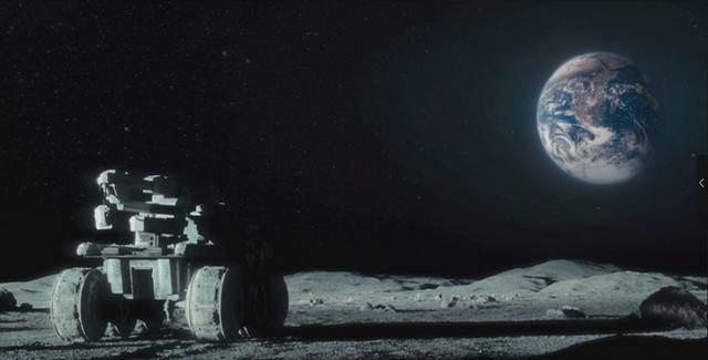 從月球上看地球。為何讓人感到恐懼?月球背面真有「外星飛船」嗎