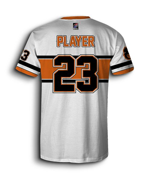 Download custom white softball jersey - full-dye custom softball ...