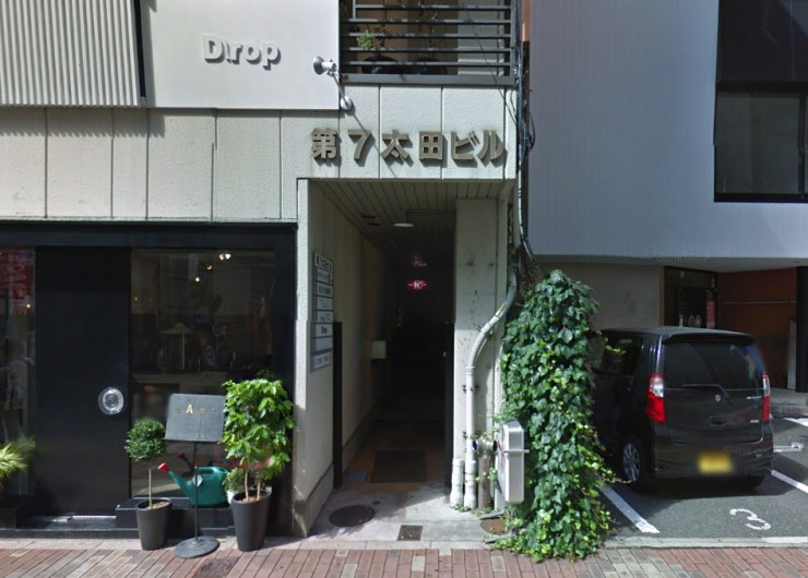 STORE15NOV Entrance (第7太田ビル通路突き当り)