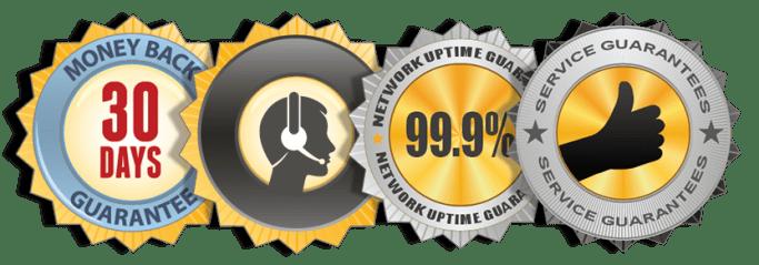 A risk–free hosting service
