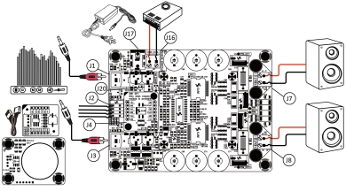 Sure Electronics' webstore 2 x 400 Watt Class D Audio