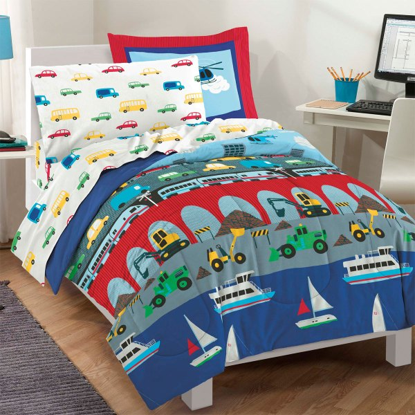 Disney Train Bedding Set - Engine Express Bed-in-bag