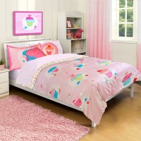 Cupcake Dreams Twin Bed Comforter and Sham Set - 2pc Pink ...