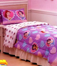 Disney Princess Bed-in-Bag Set - Girls Bedding Set - Twin ...