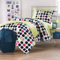 14pc POLKA DOTS FULL Double BED-IN-BAG - Division Bedding ...