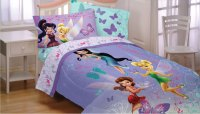 Disney Fairies Butterfly Twin-Full Comforter - Tinker Bell ...