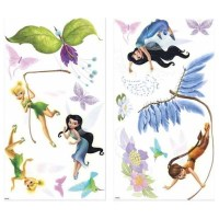 30pc Disney Fairies Wall Stickers - Tinkerbell Accent ...