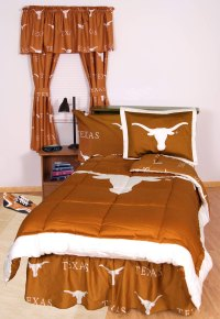 Texas Longhorns Bed Set Twin X-Long - Orange Cotton ...