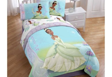 Princess Tiana Twin Bedroom Set