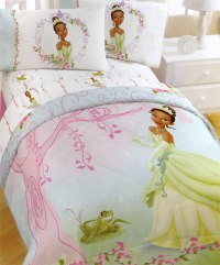 Princess Frog Comforter Set - 5pc Disney Bedding Set ...