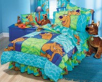 SCOOBY-DOO Thumbprints - BED IN A BAG Set - Twin-Single Size