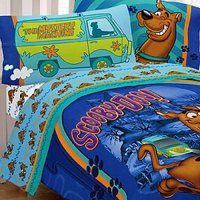 SCOOBY DOO MYSTERY MACHINE FULL BEDDING SET - Paw Prints ...