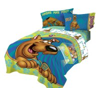 Scooby Doo Twin Bed Comforter - Smiling Scooby Bedding