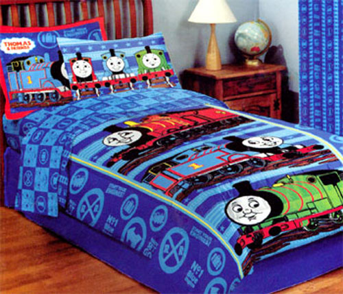 Colour Match Super White Bedding Set Double Tokida For. Thomas The Train Bedding And Curtains   Integralbook com
