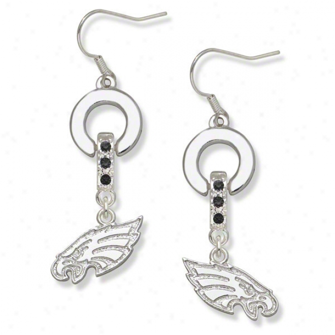 Philadelphia Eagles MVP Crystal Earrings @ National