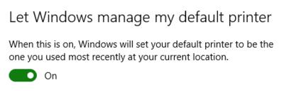 Windows 10 Comutarea Implicită A Imprimantei Tutoriale It Storeday România