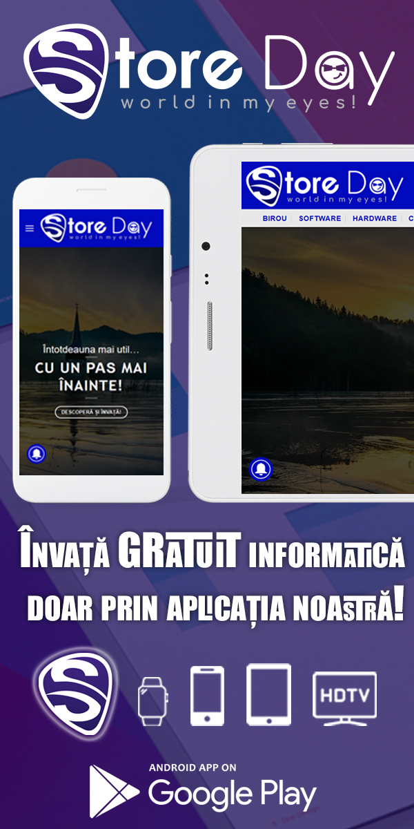 Banner Tutoriale It Storeday România